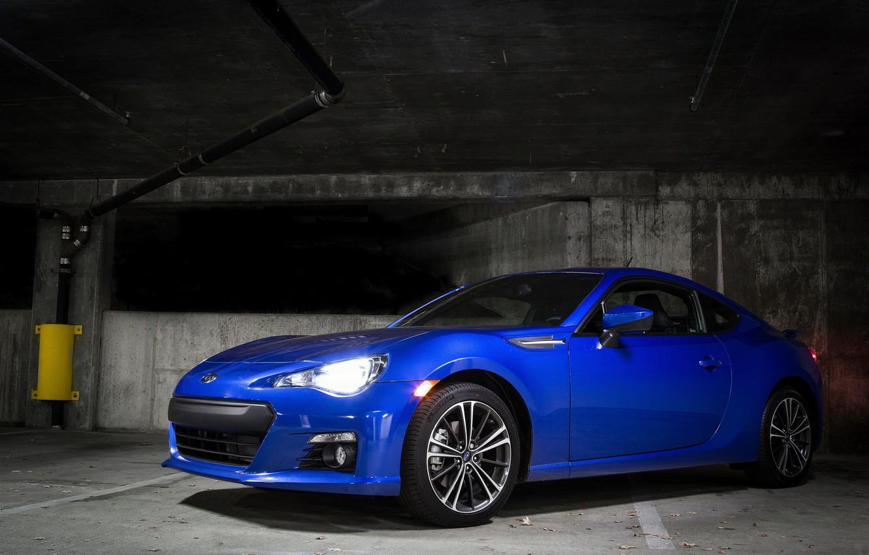 Photo wallpaper Subaru, Blue, BRZ, Underground, Limited