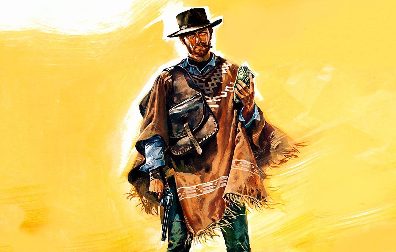 Wallpaper Gun Hat Clint Eastwood Clint Eastwood A