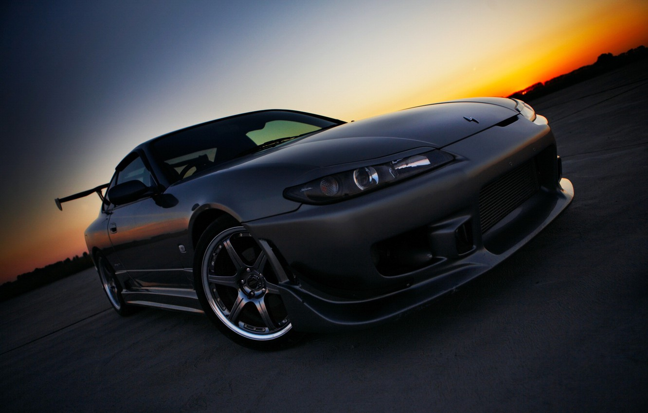 Photo wallpaper S15, Silvia, Nissan, Nissan, car Wallpaper, Sylvia, C15