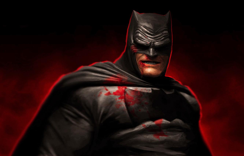 Wallpaper Dark Knight Art The Dark Knight Returns Bruce Wayne