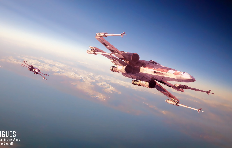 Wallpaper Star Wars Star Wars Starfighter X Wing Star Wars