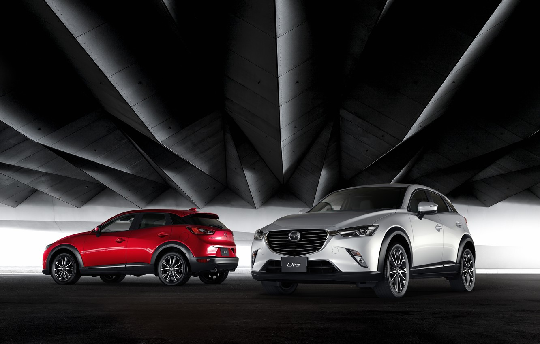 Photo wallpaper Mazda, Mazda, crossover, CX-3