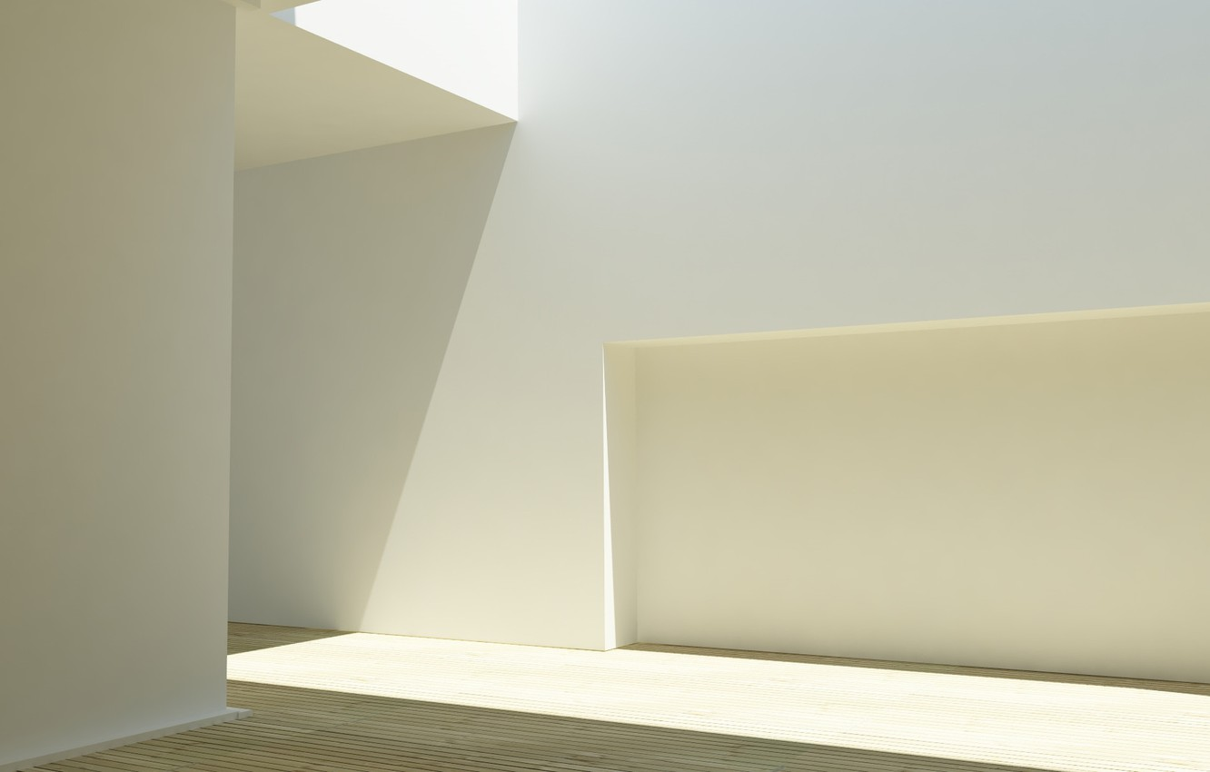 Photo wallpaper light, design, wall, architecture, the room