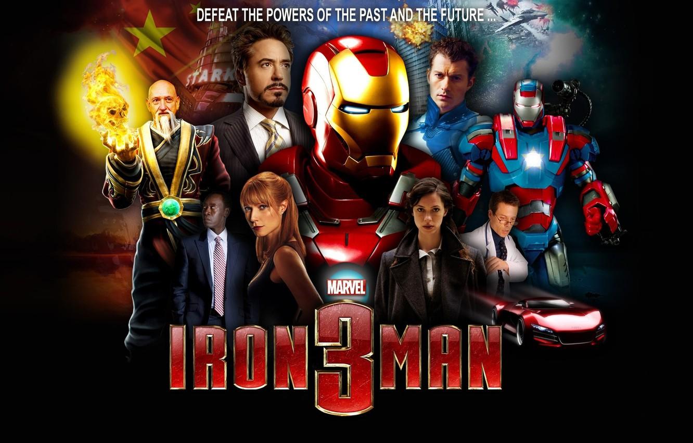 Wallpaper Fiction Comic Tony Stark Iron Man 3 Iron Man 3