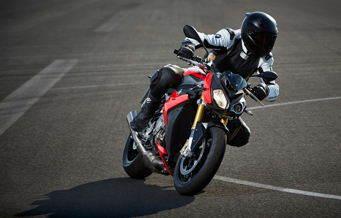 Photo wallpaper BMW, motorcycle, 2014, S 1000 R, BMW. motorcycle