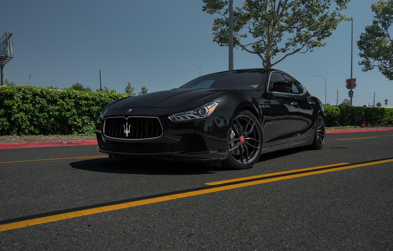 Photo wallpaper Maserati, Vorsteiner, Ghibli, V-FF, 105's