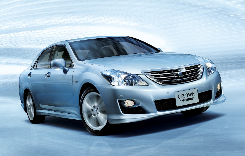 Photo wallpaper Auto, Japan, Wallpaper, Sedan, Toyota, Car, Auto, Hybrid, Wallpapers, Toyota, Crown, Hybrid, Crown
