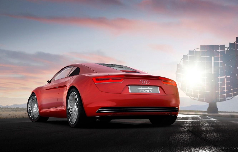 Photo wallpaper auto, car, Audi e-Tron
