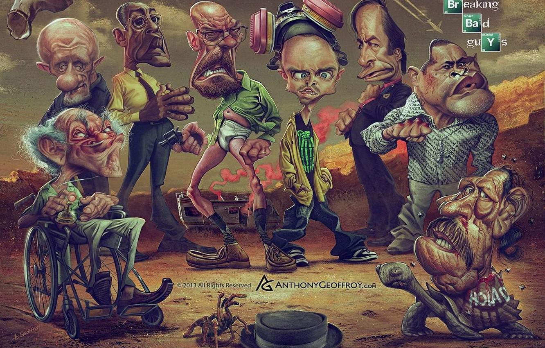 Photo wallpaper the series, Breaking bad, Breaking Bad, brba, Mike Ehrmantraut, Walter White, Jesse Pinkman, Heisenberg, Jesse …