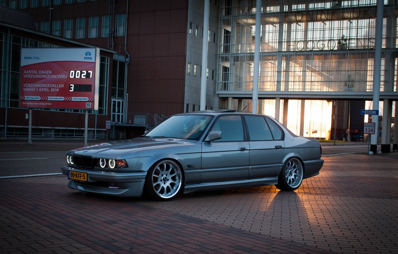Wallpaper Bmw Tuning Classic Bmw Lights Drives Tuning E32