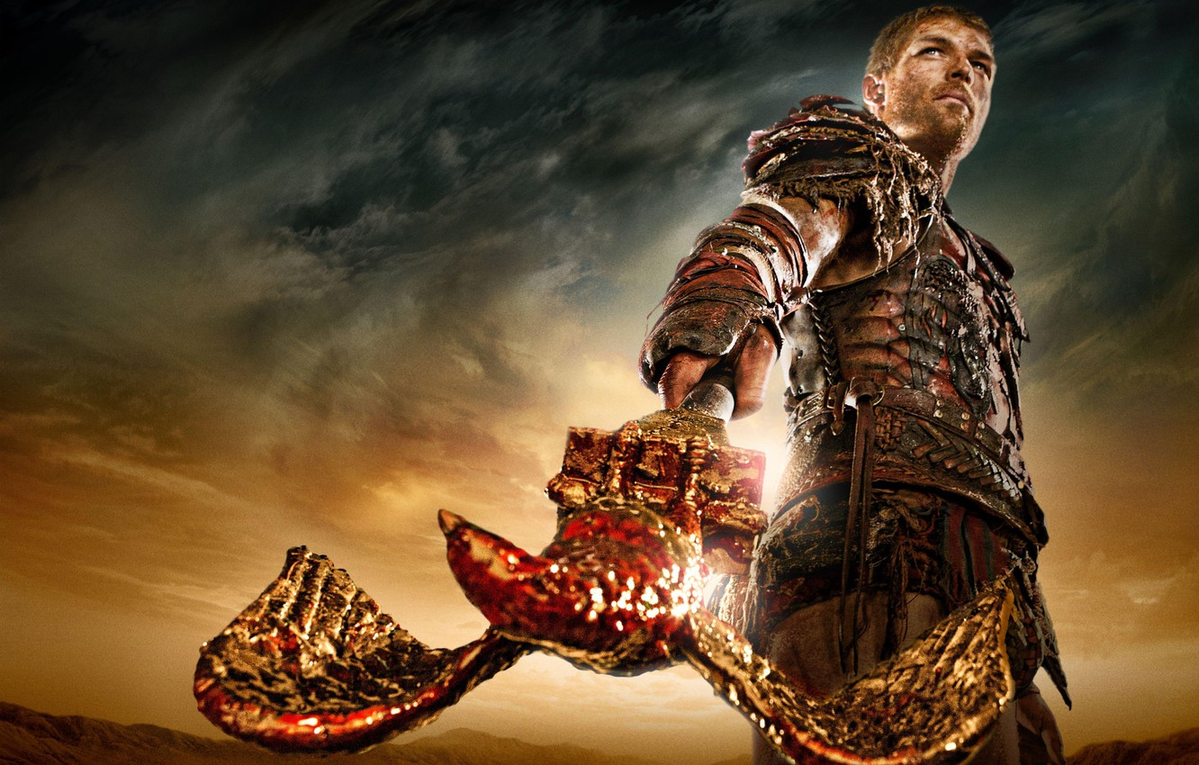 Wallpaper the film, the series, history, Spartacus