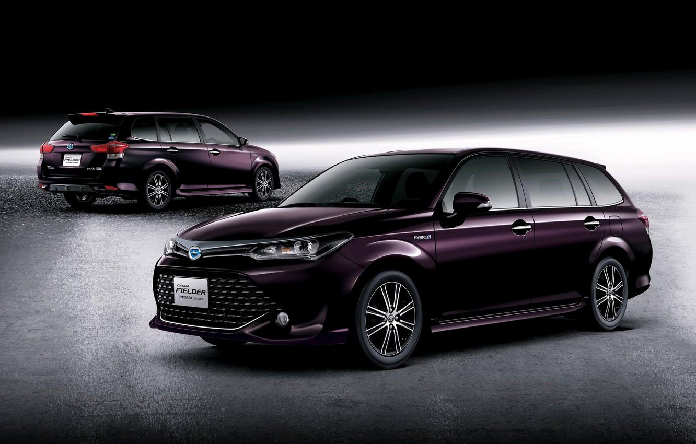 Photo wallpaper Toyota, Hybrid, hybrid, Toyota, universal, Corolla, Corolla, 2015, Fielder