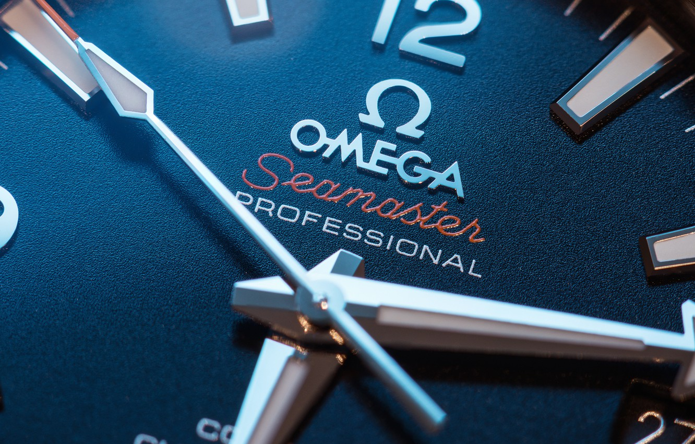 Photo wallpaper metal, omega, watch