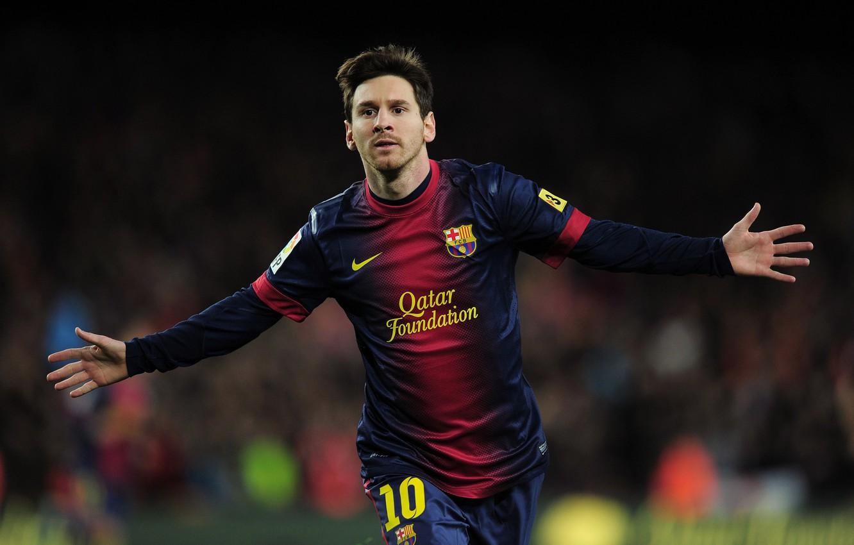 Photo wallpaper football, player, Barcelona, lionel messi, Lionel Messi, Barcelona