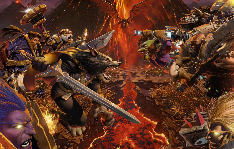 Wallpaper Wow Warcraft Worldbreaker Faction World Of Warcraft