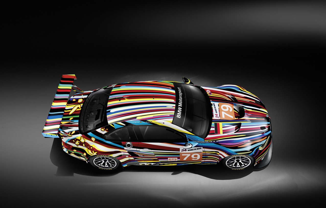 Photo wallpaper strip, tuning, sports, colors