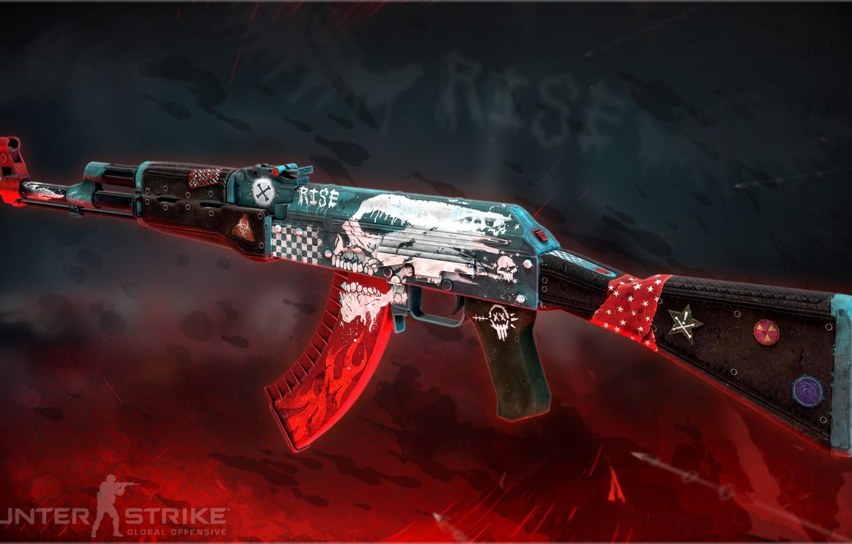 NEW Custom Painted AK-47
