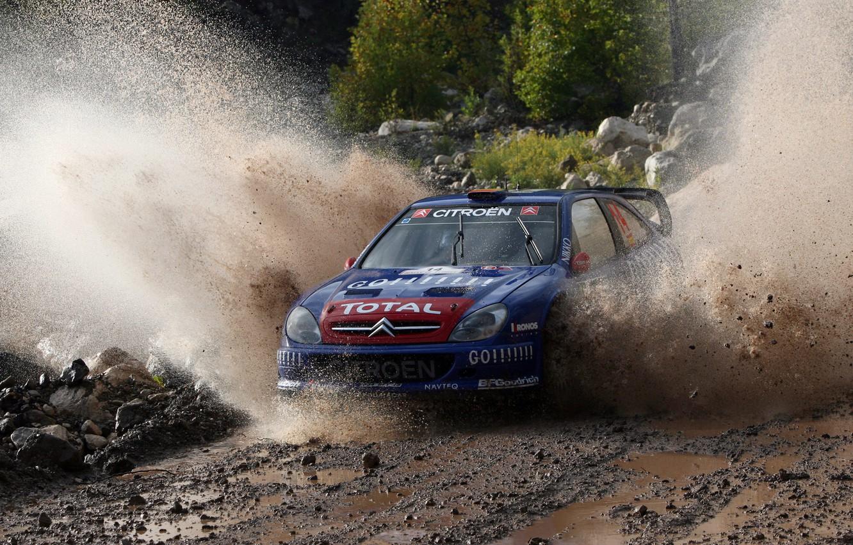 Photo wallpaper Citroen, Citroen, Squirt, WRC, Rally, Rally, Xsara, Xavier Pons