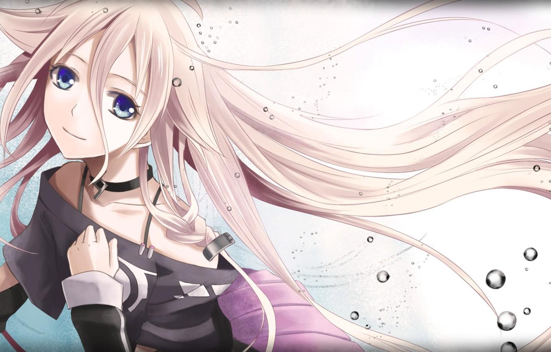 Wallpaper Girl Drop Art Vocaloid Ia Images For Desktop