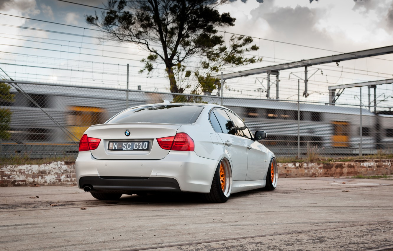 Car Wheels Tuning Bmw E90 320d Hd Wallpaper