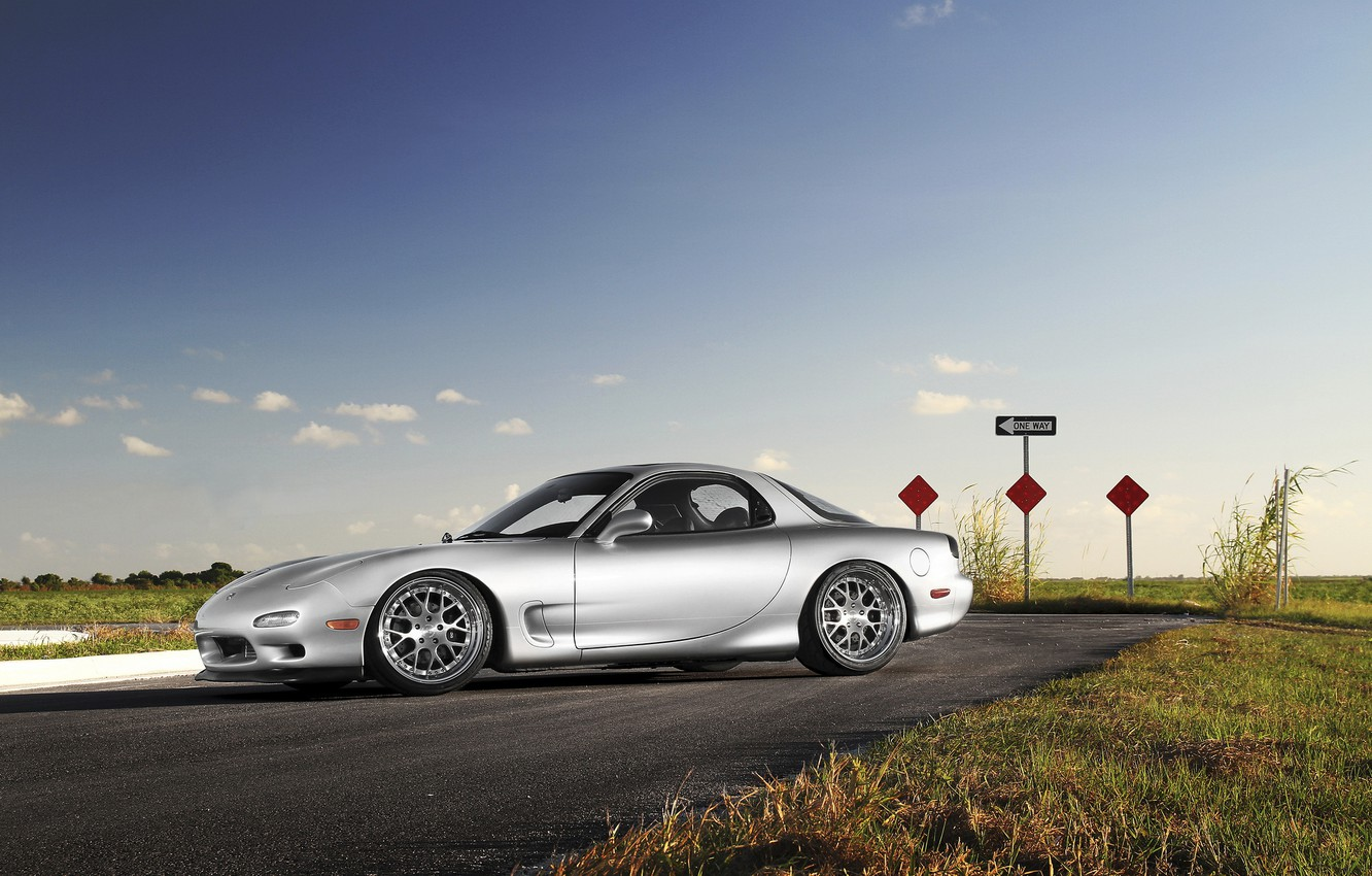Photo wallpaper Mazda, 360, Forged, RX-7