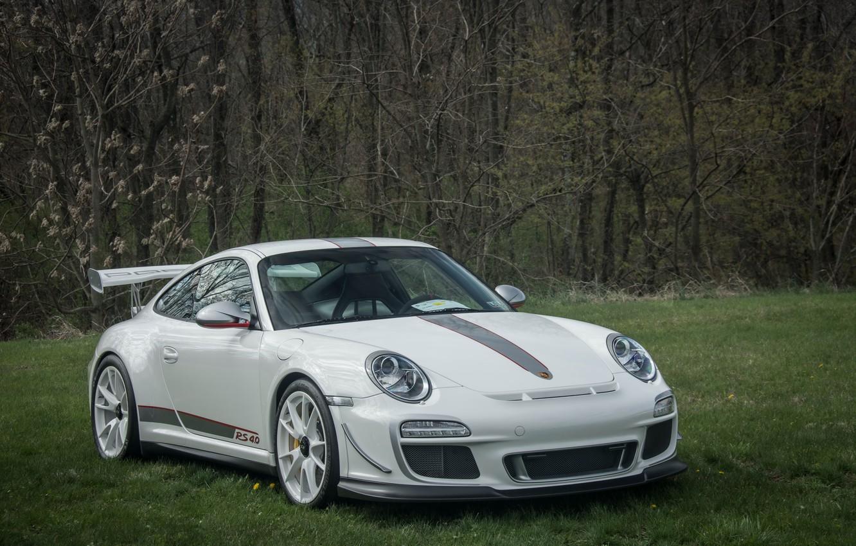 Photo wallpaper 911, Porsche, white, 4.0