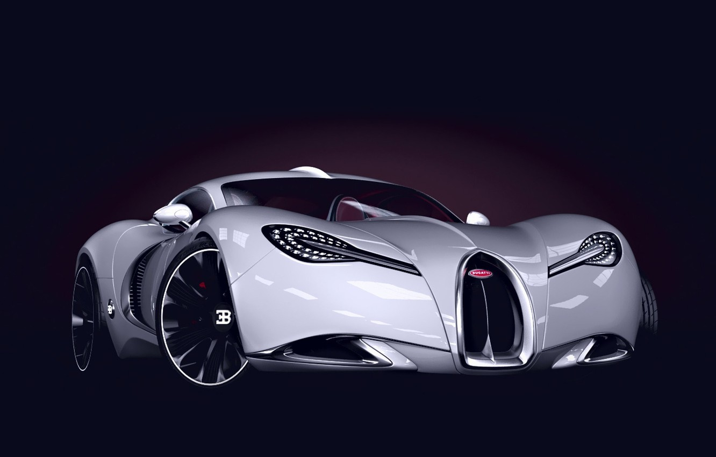 Photo wallpaper Concept, Bugatti, The concept, Bugatti, Sports car, Sportcar, Gangloff, Gangloff