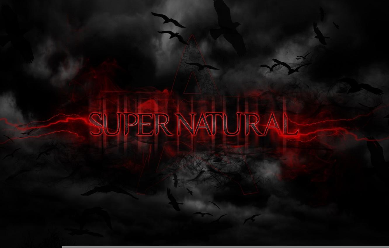 Photo wallpaper birds, background, black, supernatural, supernatural