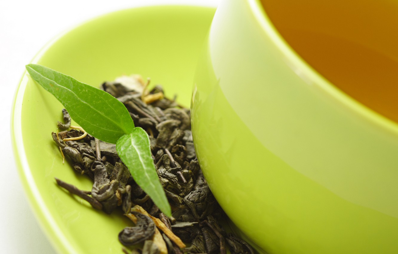 Photo wallpaper tea, leaf, plant, Cup