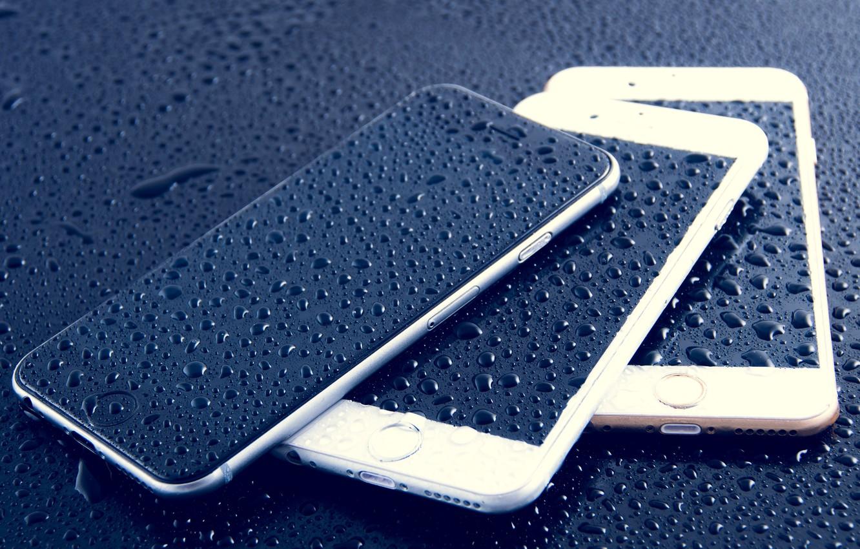 Photo wallpaper Apple, iPhone, phones