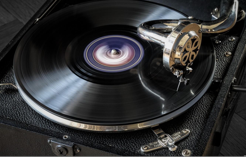 Обои Gramophone, музыка. Музыка foto 11