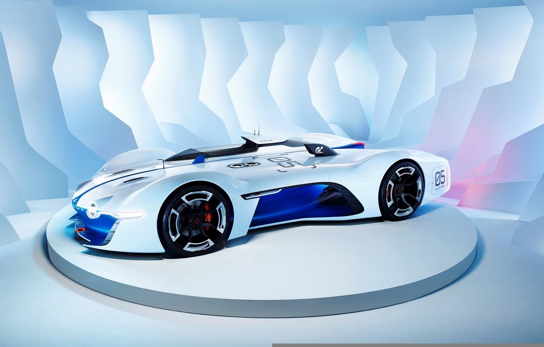Photo wallpaper Concept, Renault, Vision, Alpine, Gran Turismo, 2015