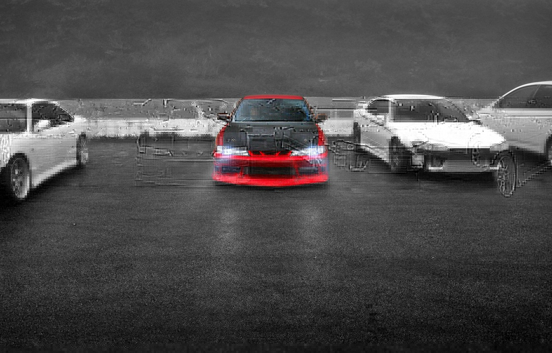 Photo wallpaper auto, Parking, Silvia, Nissan
