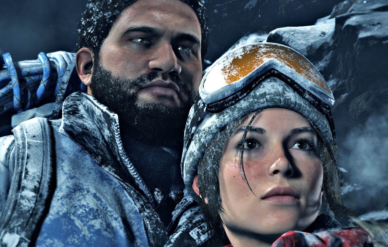 Photo wallpaper girl, the game, Square Enix, Xbox One, Rise of the Tomb Raider
