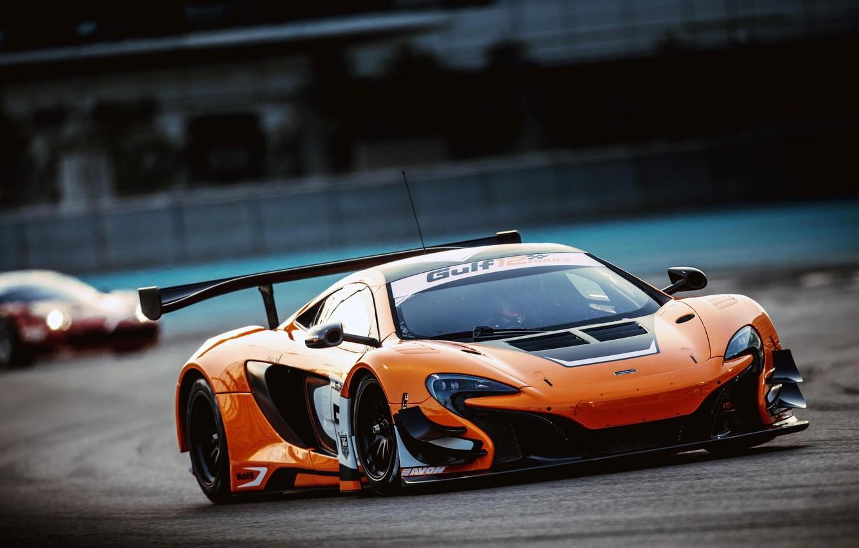 Photo wallpaper McLaren, GT3, 650S