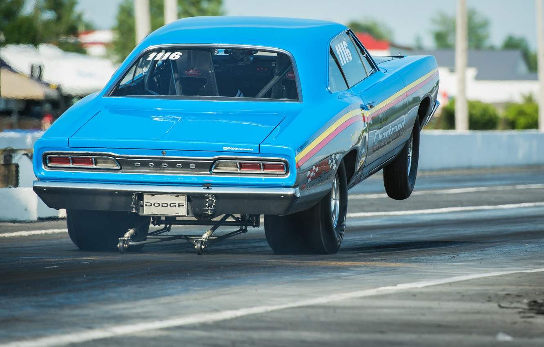 Photo wallpaper race, Dodge, muscle car, Mopar, drag racing