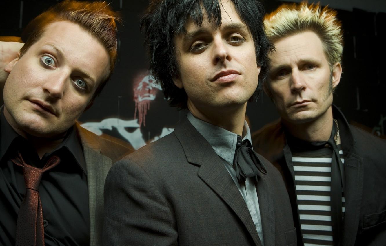 Photo wallpaper musicians, Green Day, Punk Rock