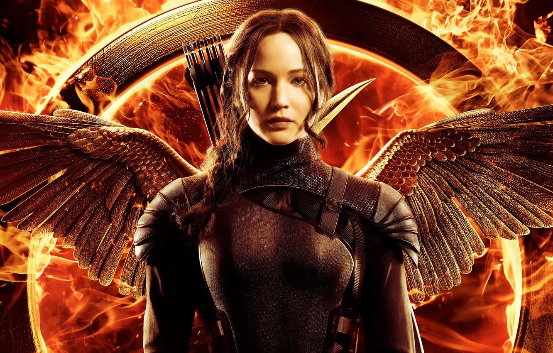 Wallpaper promo Jennifer Lawrence Katniss The Hunger Games