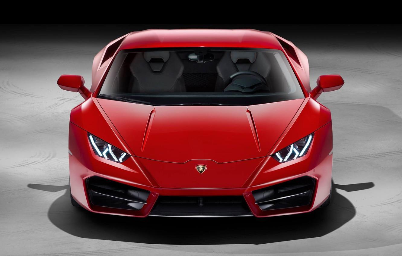 Photo wallpaper Red, Voitur, Lambo, Lamborghini, Huracan, FAS, Hurakan