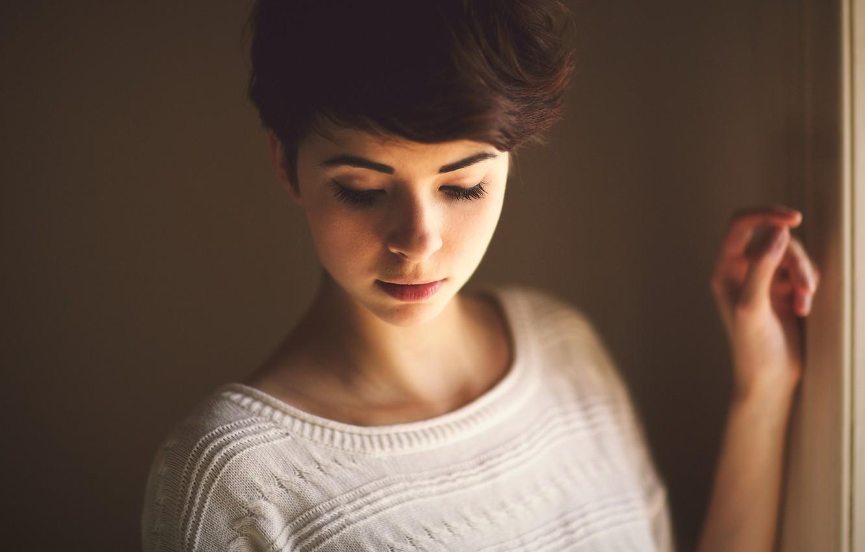 Photo wallpaper girl, mood, model, beauty