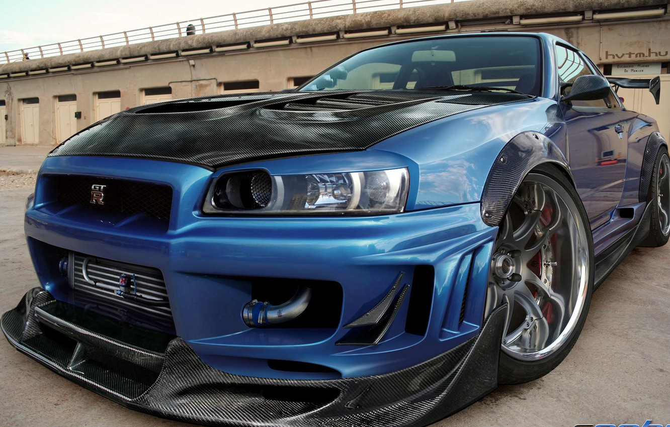Photo wallpaper tuning, carbon, supercars, Nissan GT-R