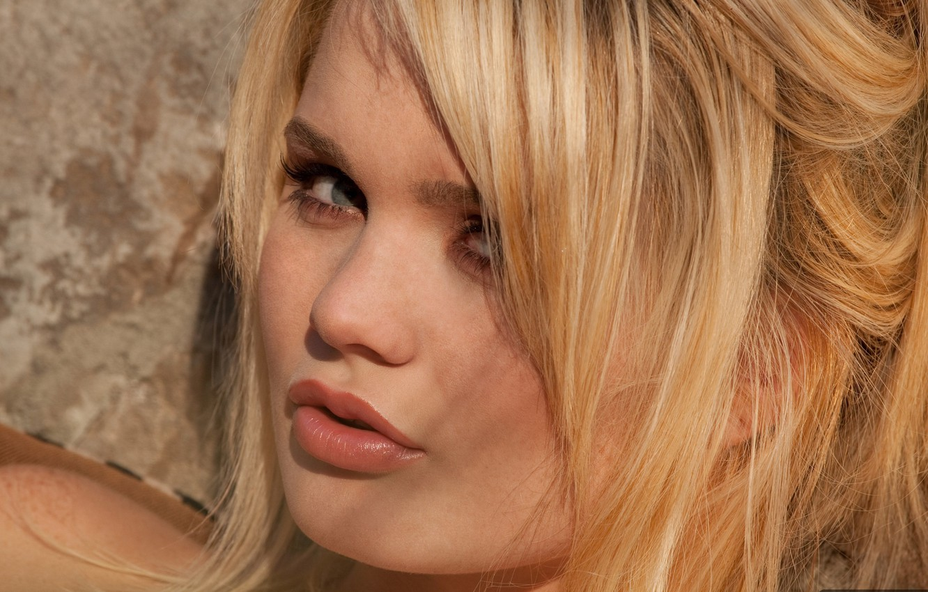 Alexis Ford wallpaper alexis ford, eyes, lips, face, hair, blonde, close