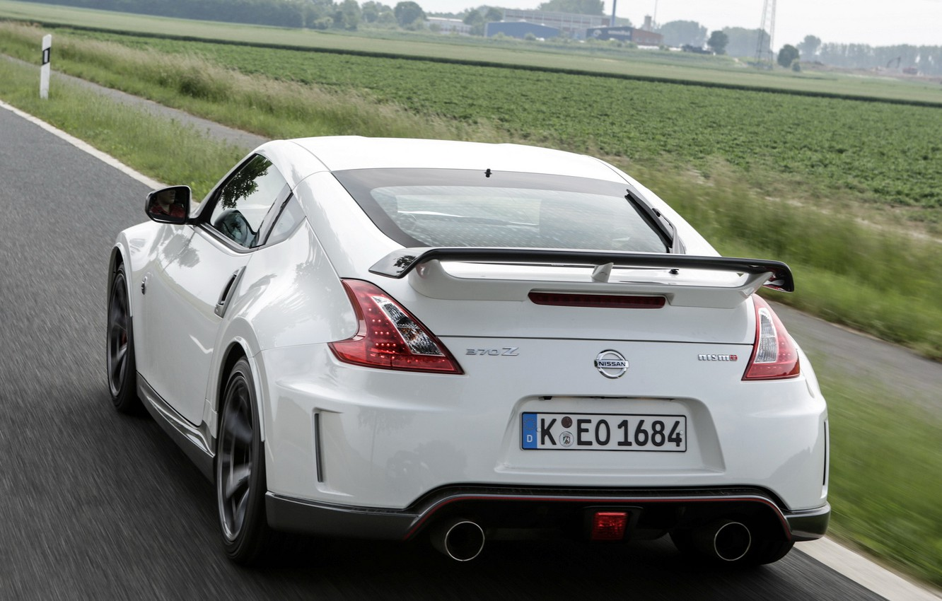 Wallpaper Auto Nissan Rear View Nissan 370z Nismo Images For