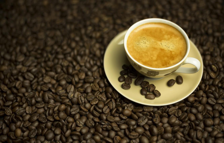 Photo wallpaper Coffee, drink, grain