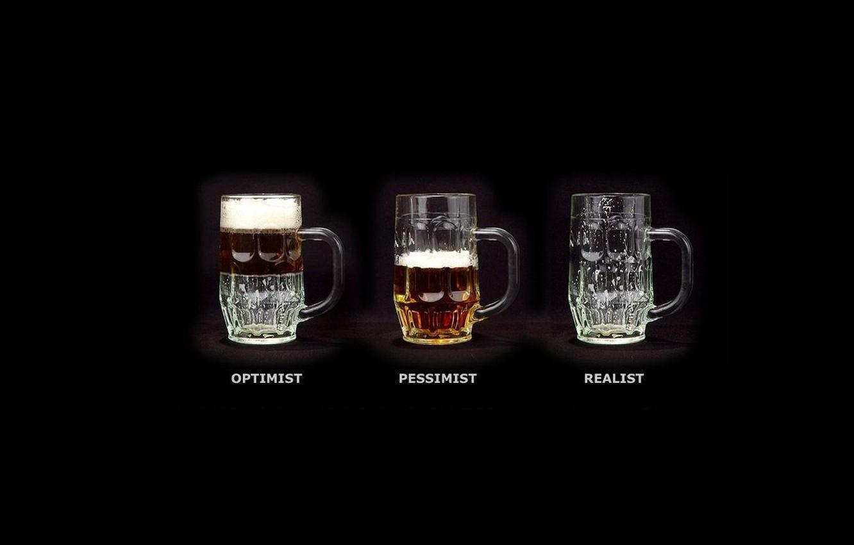 Photo wallpaper character, beer, mugs
