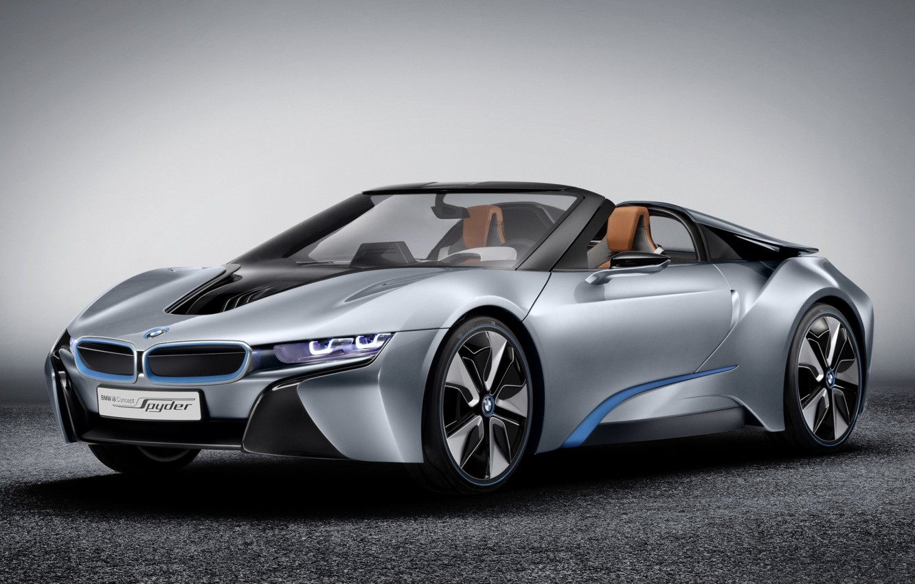 Photo wallpaper background, bmw, BMW, concept, the concept, supercar, the front, spider, spyder, ай8