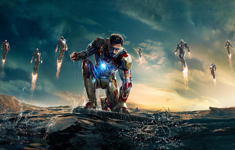 Photo wallpaper Robert, Iron Man, Tony Stark, iron man 3, Robert Downey, Downey ml, Iron Man3