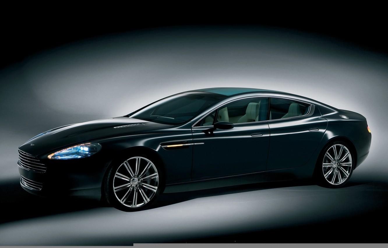 Photo wallpaper xenon, Aston Martin, Rapide