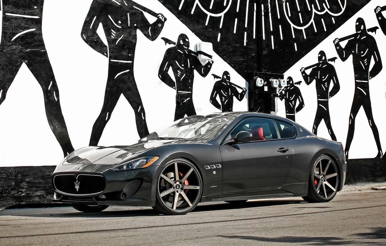 Photo wallpaper Maserati, Machine, Maserati