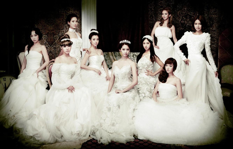 Wallpaper Girls Posing White The Bride Asian Girls